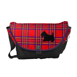 La bolsa de mensajero de la tela escocesa de Terri Bolsas De Mensajeria