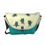 La bolsa de mensajero de la tortuga de mar del beb bolsas de mensajeria