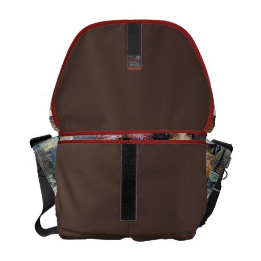 La bolsa de mensajero de las botas de vaquero bolsa de mensajeria