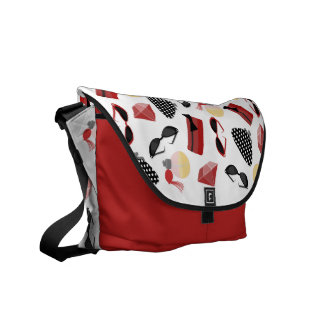 La bolsa de mensajero de las gafas de sol y de los bolsas de mensajeria