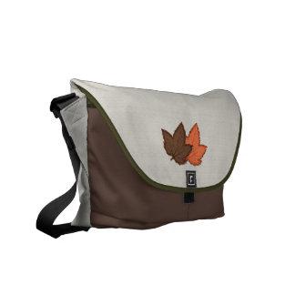 La bolsa de mensajero de las hojas y de los alces bolsas de mensajería