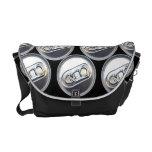 La bolsa de mensajero de las latas de las bebidas bolsas de mensajeria
