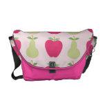 La bolsa de mensajero de las manzanas y de las per bolsa messenger