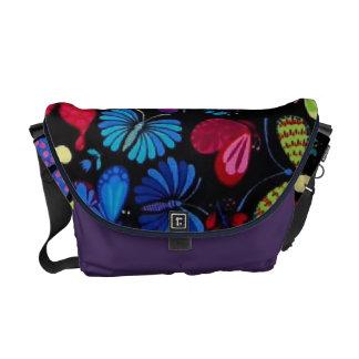 La bolsa de mensajero de las mariposas bolsas de mensajeria