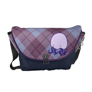 La bolsa de mensajero de las medusas de Argyle - p Bolsas De Mensajeria