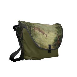 La bolsa de mensajero de los ciervos bolsa messenger
