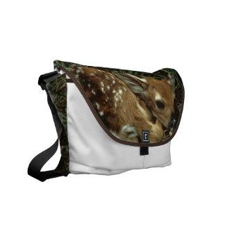 La bolsa de mensajero de los ciervos del bebé bolsas de mensajería