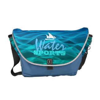 La bolsa de mensajero de los deportes acuáticos bolsas messenger