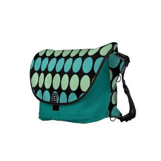 La bolsa de mensajero de los puntos del trullo y d bolsas messenger