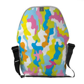 La bolsa de mensajero de lujo de Camo del color Bolsa De Mensajería