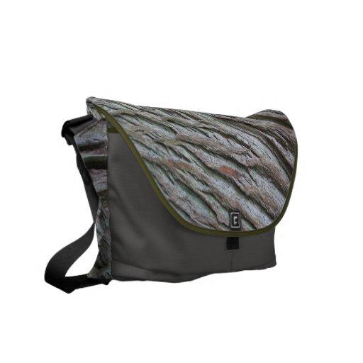 La bolsa de mensajero de madera del modelo bolsa de mensajería
