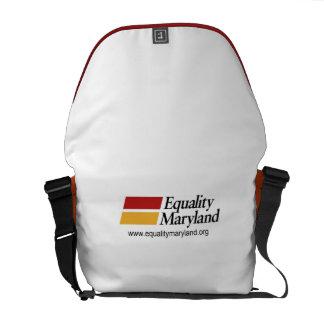 La bolsa de mensajero de Maryland de la igualdad Bolsa Messenger