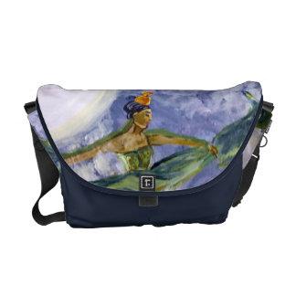 La bolsa de mensajero de medianoche de la diosa de bolsa messenger