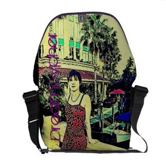 La bolsa de mensajero de Miami Vice (estilo del Bolsas De Mensajeria