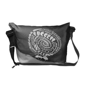 La bolsa de mensajero de motivación bolsas de mensajeria