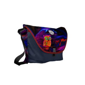 La bolsa de mensajero de neón del flash de la bolsas de mensajería