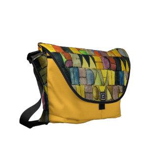 La bolsa de mensajero de Paul Klee - medio Bolsas Messenger