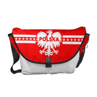 La bolsa de mensajero de Polonia Polska Eagle Bolsa Messenger
