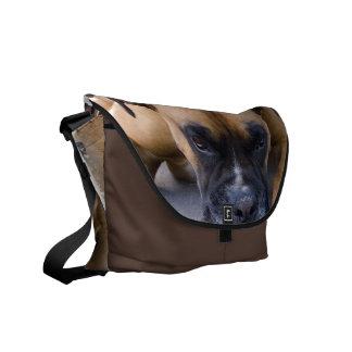 La bolsa de mensajero de reclinación del perro del bolsas messenger