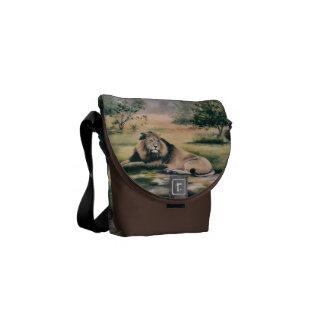 La bolsa de mensajero de rey Lion Mini Bolsas De Mensajeria