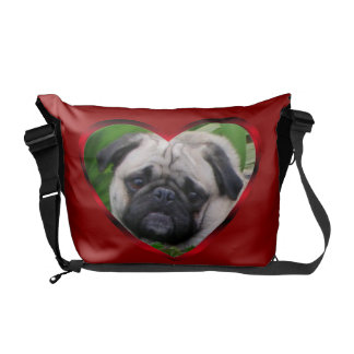 La bolsa de mensajero de Richshaw del perro del ba Bolsa De Mensajeria
