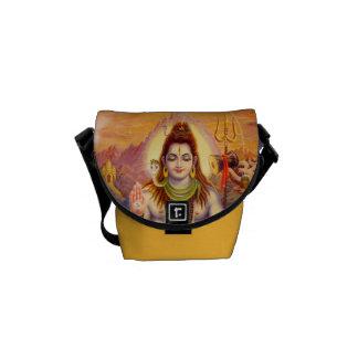 La bolsa de mensajero de señor Shiva Meditating Bolsa De Mensajeria