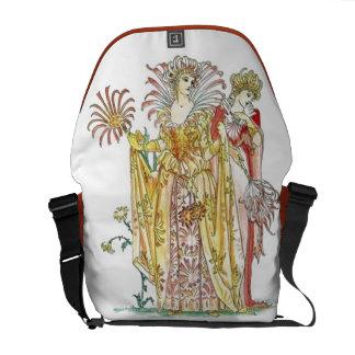 La bolsa de mensajero de señora Goddess del lirio  Bolsas Messenger