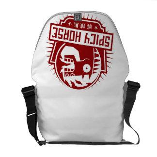 La bolsa de mensajero de Spicy Horse - luz Bolsas De Mensajeria