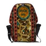 La bolsa de mensajero de Steampunk 4A/4B Bolsas Messenger