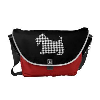 La bolsa de mensajero de Terrier del escocés de Ho Bolsa De Mensajeria