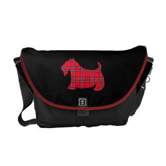 La bolsa de mensajero de Terrier del escocés de la Bolsas Messenger
