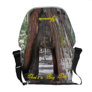 La bolsa de mensajero de Yosemite lg Bolsas De Mensajería