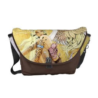 La bolsa de mensajero del ángel bolsas de mensajería