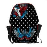 La bolsa de mensajero del ángel del tatuaje del tr bolsa messenger