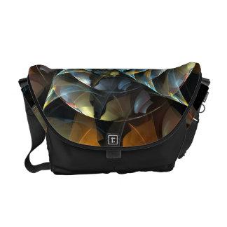 La bolsa de mensajero del arte abstracto del bolsas de mensajería