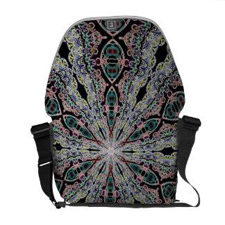 La bolsa de mensajero del arte del rayo del mister bolsas de mensajeria
