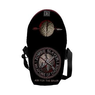 La bolsa de mensajero del asesino del zombi bolsa messenger