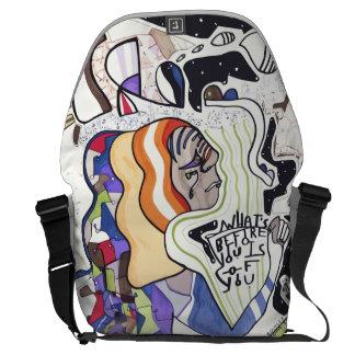 """La bolsa de mensajero """"del astrónomo"""" bolsas de mensajeria"""