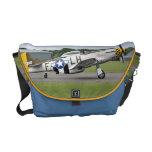 La bolsa de mensajero del avión de combate del mus bolsa de mensajeria