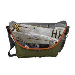 La bolsa de mensajero del avión de combate del mus bolsa de mensajería