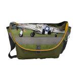 La bolsa de mensajero del avión de combate del mus bolsas de mensajería