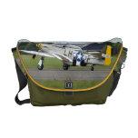 La bolsa de mensajero del avión de combate del mus bolsas de mensajeria