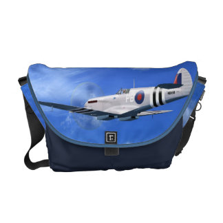 La bolsa de mensajero del avión de combate del Spi Bolsas Messenger