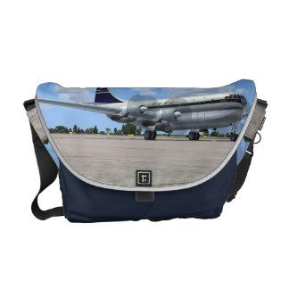 La bolsa de mensajero del avión de pasajeros de B3 Bolsas Messenger