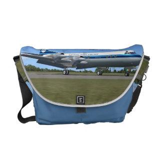 La bolsa de mensajero del avión de pasajeros de Lo Bolsa De Mensajeria