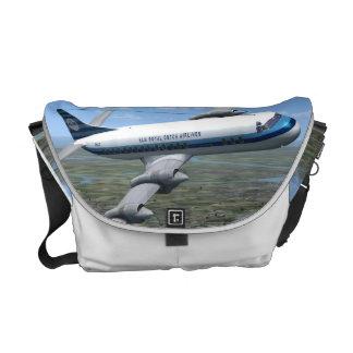 La bolsa de mensajero del avión de pasajeros de Lo Bolsa De Mensajería