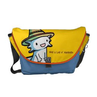 La bolsa de mensajero del Axolotl Bolsas Messenger