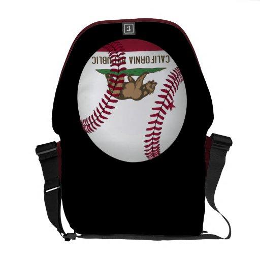 La bolsa de mensajero del béisbol de la república  bolsas messenger