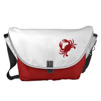 La bolsa de mensajero del cangrejo bolsa de mensajeria