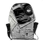 La bolsa de mensajero del carrito bolsas de mensajería